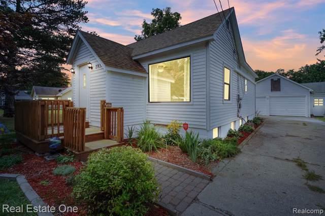 2931 Elba Avenue, Waterford Twp, MI 48329 (#219084288) :: GK Real Estate Team
