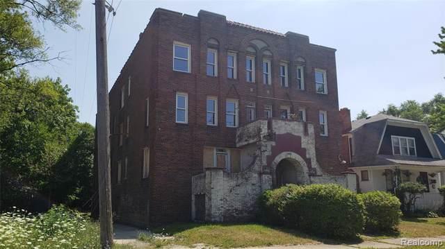 2297 W Buena Vista Street, Detroit, MI 48238 (#219084439) :: The Mulvihill Group