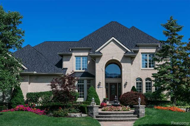 48576 Stoneridge Drive, Northville Twp, MI 48168 (#219084470) :: GK Real Estate Team