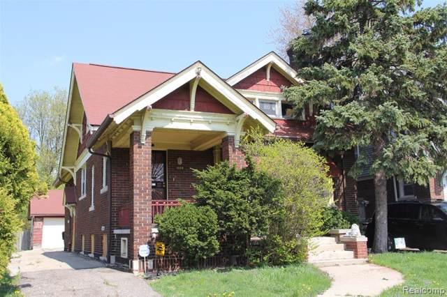 444 Chalmers Street, Detroit, MI 48215 (MLS #219084513) :: The Toth Team