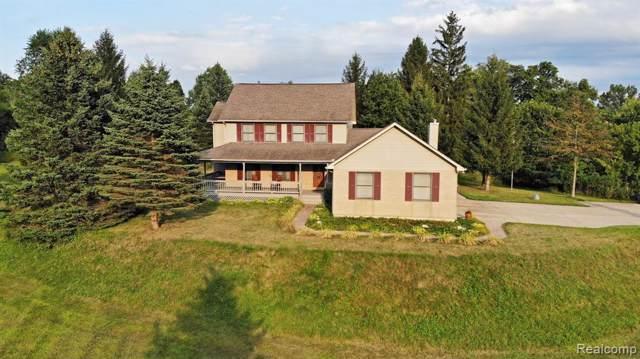 1071 Lockwood Road, Brandon Twp, MI 48462 (#219084525) :: The Alex Nugent Team | Real Estate One