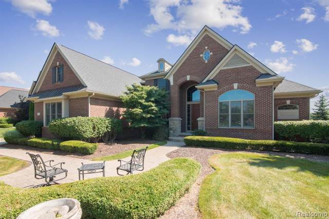 18600 Marble Head Drive, Northville Twp, MI 48168 (#219084536) :: GK Real Estate Team