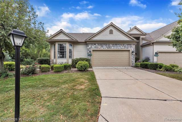 16153 Forest Lake Drive #130, Northville Twp, MI 48168 (MLS #219084665) :: The Toth Team