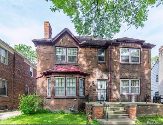 16641 La Salle Avenue, Detroit, MI 48221 (#219084668) :: The Buckley Jolley Real Estate Team