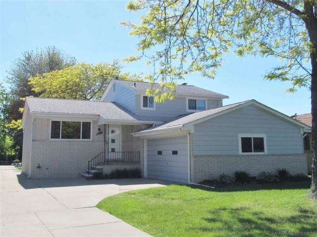 38909 Lakeshore Dr, Harrison Twp, MI 48045 (#58031391358) :: The Alex Nugent Team | Real Estate One