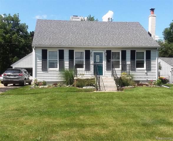 256 Coleman Drive, Waterford Twp, MI 48328 (#219084737) :: GK Real Estate Team