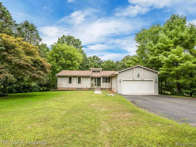 1200 S Baldwin Road, Orion Twp, MI 48360 (MLS #219084745) :: The Toth Team
