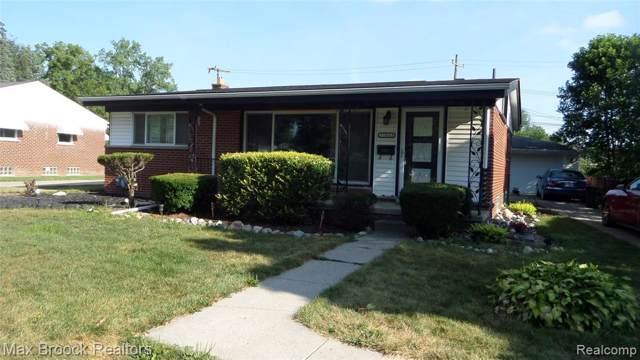 17663 Dolores Street, Livonia, MI 48152 (#219084777) :: GK Real Estate Team