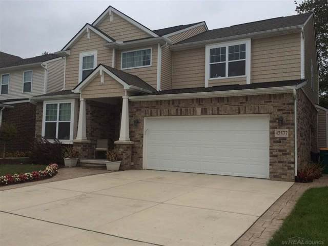 42577 Greystone, Sterling Heights, MI 48313 (MLS #58031391379) :: The Toth Team