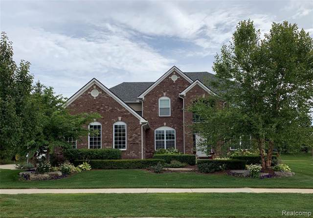 54641 Brentwood Drive, Lyon Twp, MI 48178 (#219084852) :: GK Real Estate Team