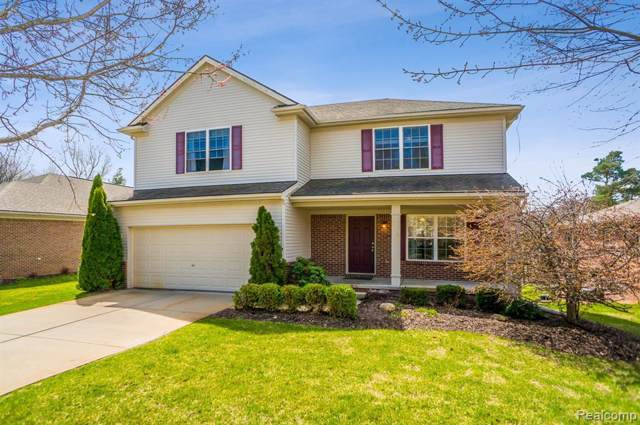 2710 Signature Circle, Hamburg Twp, MI 48169 (#219084856) :: The Buckley Jolley Real Estate Team