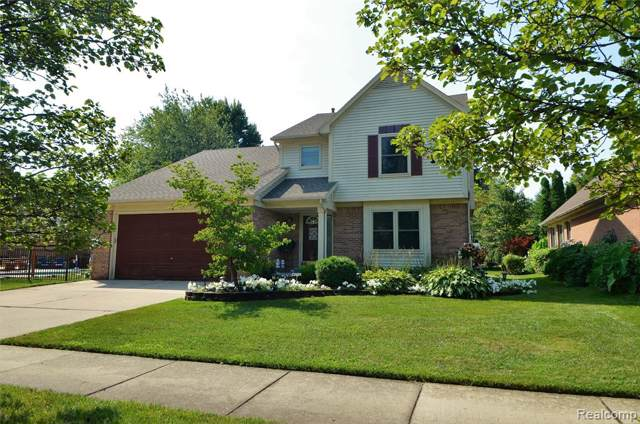 43821 Nowland Drive, Canton Twp, MI 48188 (#219084973) :: The Buckley Jolley Real Estate Team