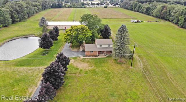 3690 Dartmouth Road, Brandon Twp, MI 48371 (#219085020) :: The Mulvihill Group