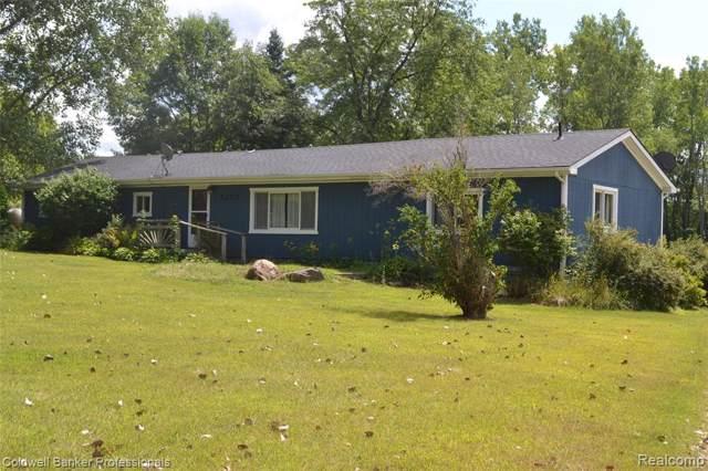 5173 W Oregon Road, Elba Twp, MI 48446 (#219085157) :: The Mulvihill Group