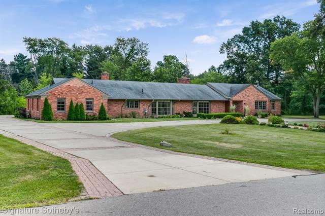 181 Linda Lane, Bloomfield Hills, MI 48304 (#219085231) :: Keller Williams West Bloomfield