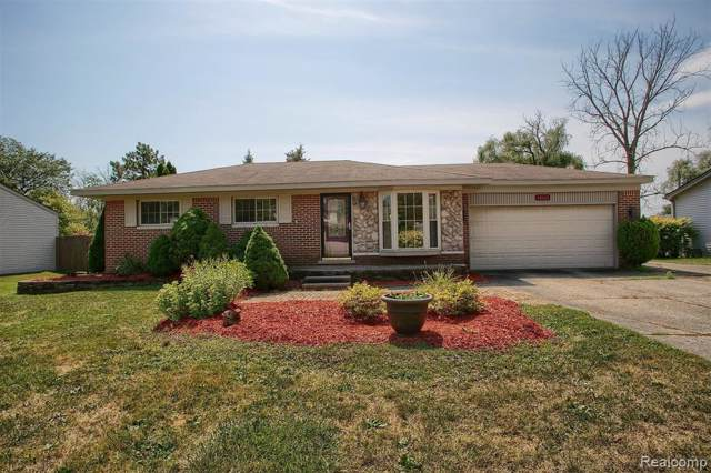 48162 Forbes Street, Chesterfield Twp, MI 48047 (#219085295) :: The Mulvihill Group