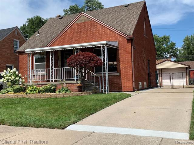 15222 Angelique Avenue, Allen Park, MI 48101 (#219085426) :: Alan Brown Group