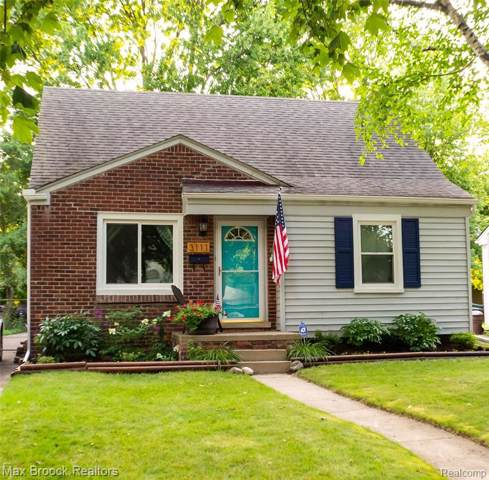 3111 Ferris Avenue, Royal Oak, MI 48073 (#219085629) :: Springview Realty