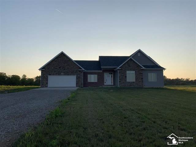 8565 Grafton Rd, Frenchtown Twp, MI 48166 (#57031391603) :: The Mulvihill Group