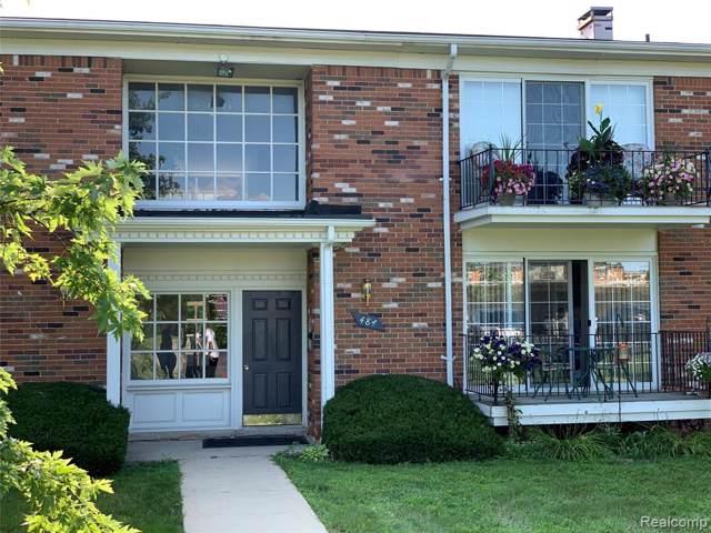 484 N Fox Hills Drive #179, Bloomfield Hills, MI 48304 (#219086056) :: Keller Williams West Bloomfield