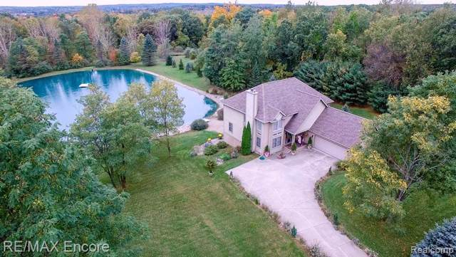 2340 High Meadows Drive, Brandon Twp, MI 48462 (#219086473) :: The Mulvihill Group