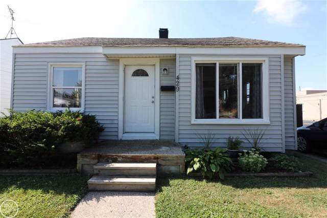 429 W Morehouse Ave, Hazel Park, MI 48030 (MLS #58031391847) :: The Toth Team