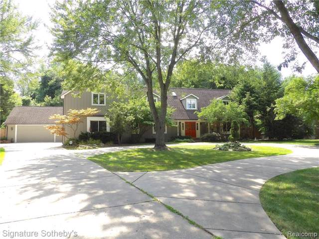 1825 Huntingwood Lane, Bloomfield Hills, MI 48304 (#219086631) :: Keller Williams West Bloomfield