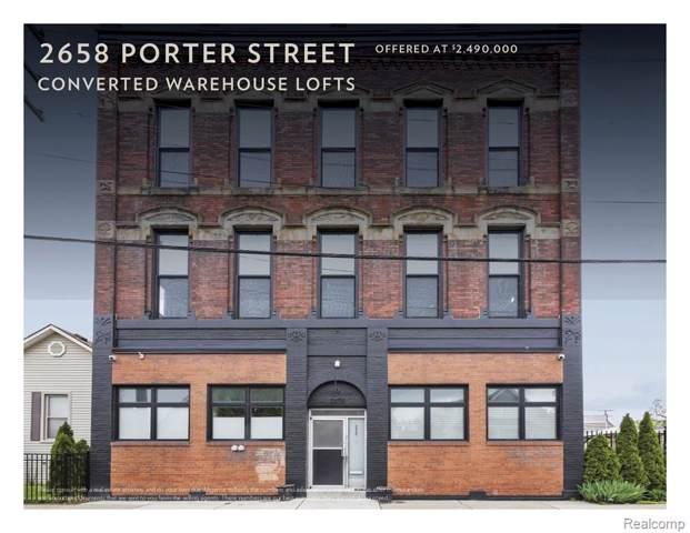 2658 Porter Street, Detroit, MI 48216 (#219086707) :: RE/MAX Classic