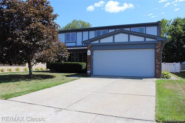 43980 Harsdale Drive, Canton Twp, MI 48187 (#219086712) :: RE/MAX Classic