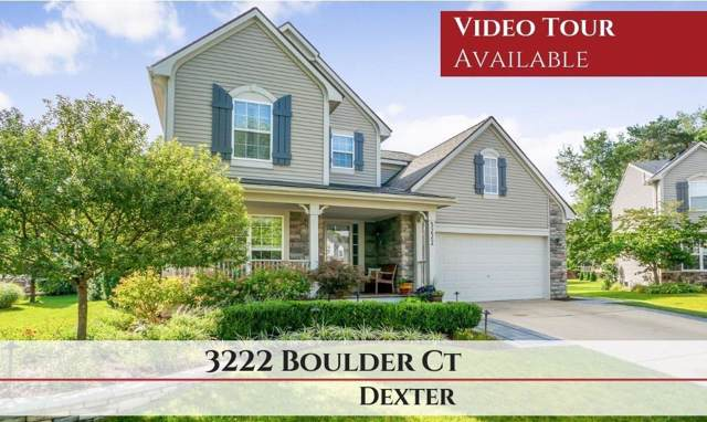 3222 Boulder Court, Dexter, MI 48130 (#543268233) :: The Mulvihill Group