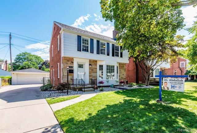 231 Claremont Street, Dearborn, MI 48124 (#219086806) :: The Buckley Jolley Real Estate Team