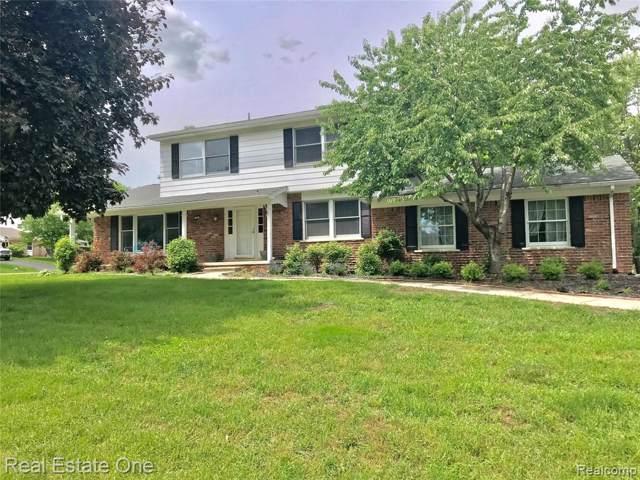 590 Fieldstone Drive, Rochester Hills, MI 48309 (#219087197) :: RE/MAX Nexus