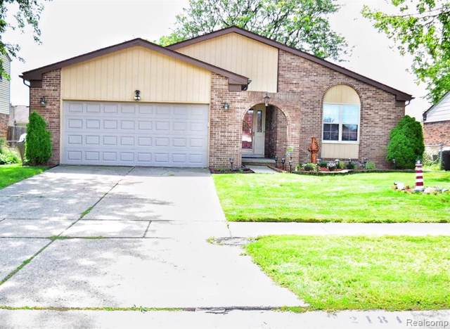 2184 Pandora Drive, Sterling Heights, MI 48310 (#219087437) :: The Buckley Jolley Real Estate Team