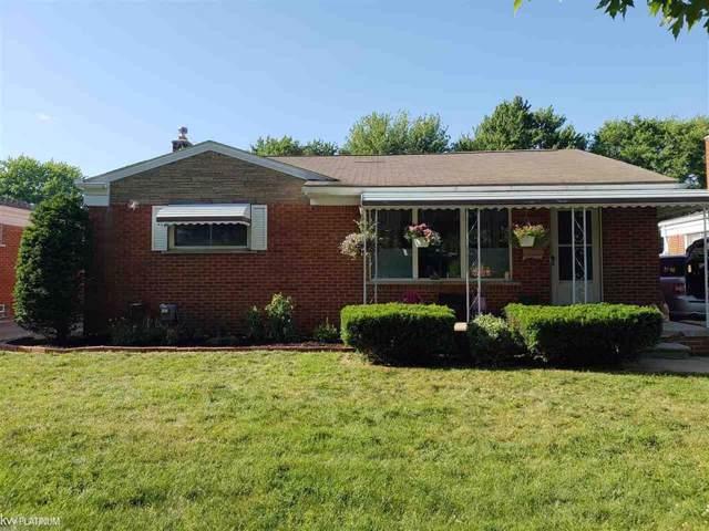 1381 Beaupre, Madison Heights, MI 48071 (#58031392147) :: Keller Williams West Bloomfield