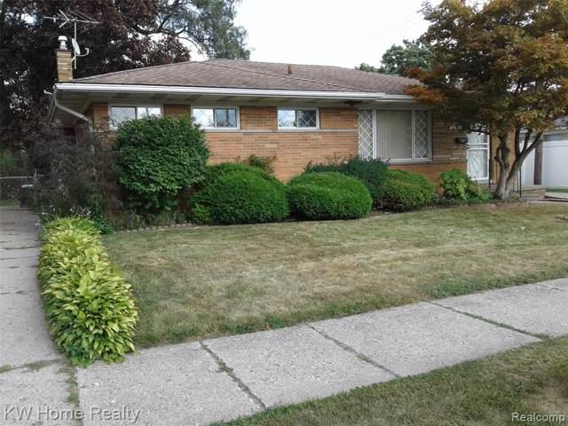 20520 Avon Ave, Detroit, MI 48219 (#219087493) :: GK Real Estate Team