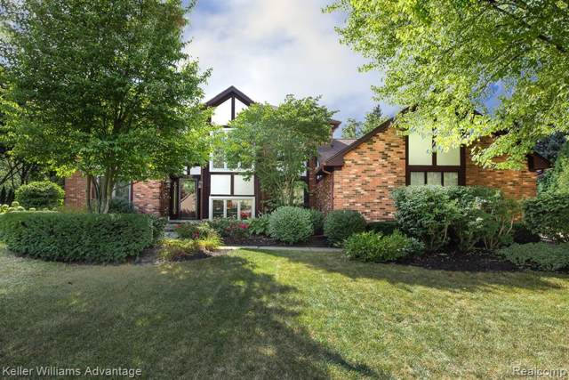 46670 N Valley Drive, Northville Twp, MI 48167 (#219087549) :: RE/MAX Classic