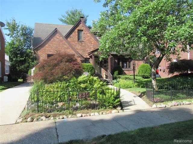 830 S Denwood Street, Dearborn, MI 48124 (#219087901) :: The Buckley Jolley Real Estate Team
