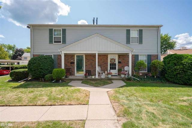 24034 Meadow Bridge, Clinton Twp, MI 48035 (#58031392265) :: Alan Brown Group