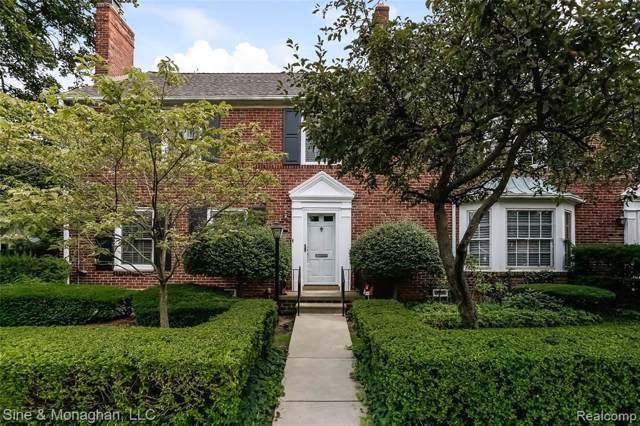 16934 St. Paul #12, Grosse Pointe, MI 48230 (#219088400) :: The Alex Nugent Team | Real Estate One