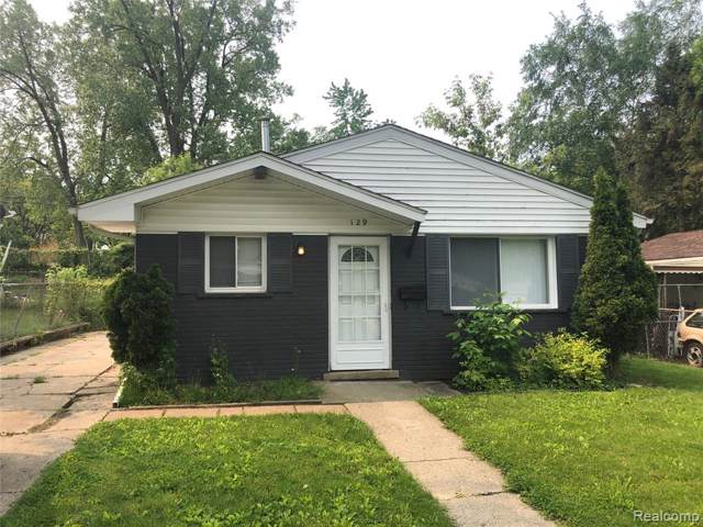 129 W Cornell Avenue, Pontiac, MI 48340 (#219088786) :: The Buckley Jolley Real Estate Team