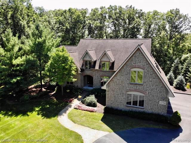 12750 Sleigh Trail, Hartland Twp, MI 48380 (#219089062) :: Duneske Real Estate Advisors