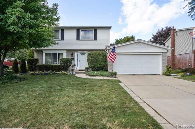 7521 Hillsboro Drive, Canton Twp, MI 48187 (#219089403) :: The Buckley Jolley Real Estate Team