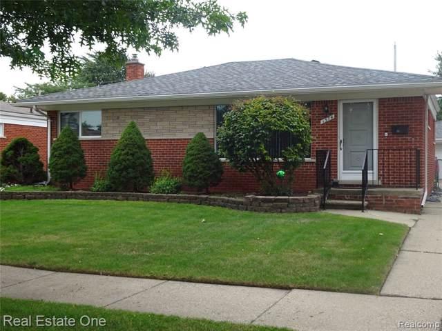 1574 Jenifer Avenue, Madison Heights, MI 48071 (#219089442) :: Alan Brown Group