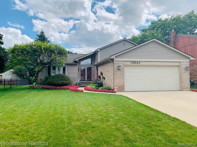 13844 Brookside Drive, Sterling Heights, MI 48313 (#219089750) :: The Mulvihill Group