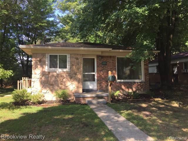 225 N Alice Avenue, Rochester, MI 48307 (#219089896) :: The Buckley Jolley Real Estate Team