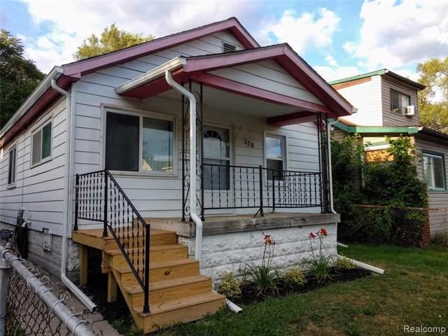 328 W Milton Avenue, Hazel Park, MI 48030 (#219090162) :: The Buckley Jolley Real Estate Team