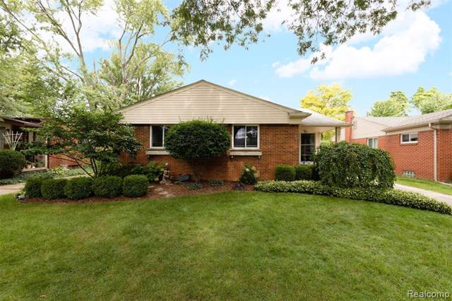 2006 Cresthill Avenue, Royal Oak, MI 48073 (#219090371) :: The Buckley Jolley Real Estate Team