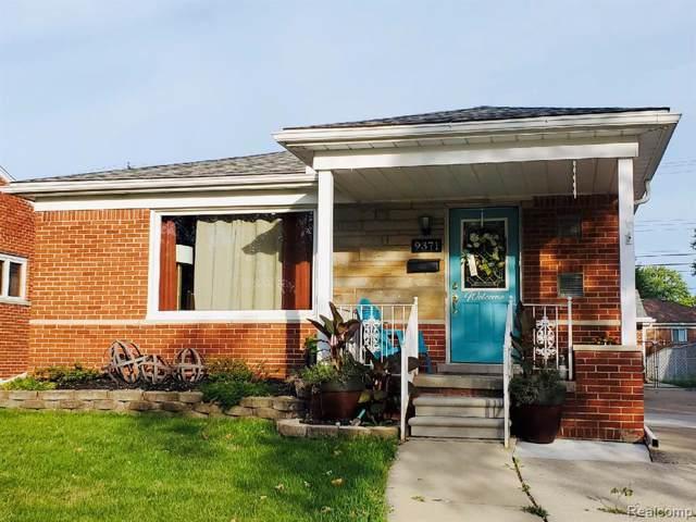 9371 Marlborough Avenue, Allen Park, MI 48101 (#219090676) :: The Buckley Jolley Real Estate Team