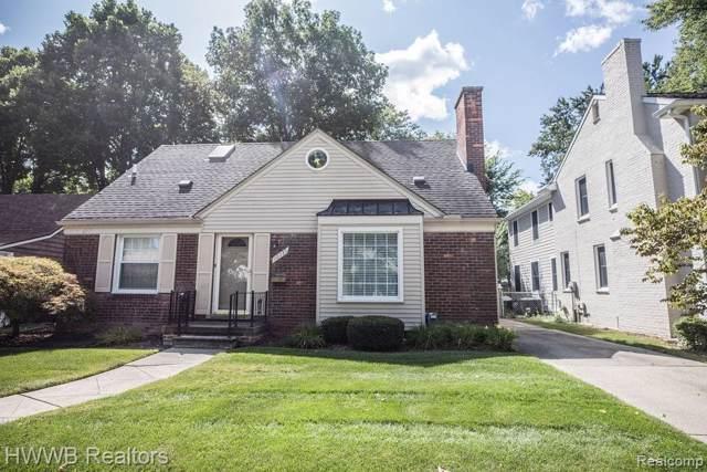 10735 Nadine Avenue, Huntington Woods, MI 48070 (#219090688) :: The Buckley Jolley Real Estate Team