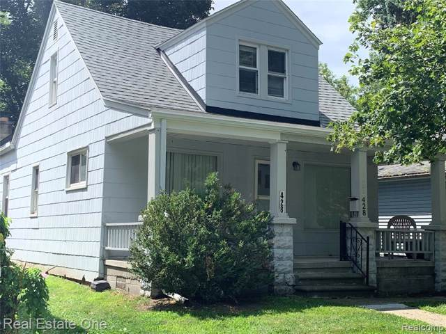 428 E Elza, Hazel Park, MI 48030 (#219090910) :: The Buckley Jolley Real Estate Team